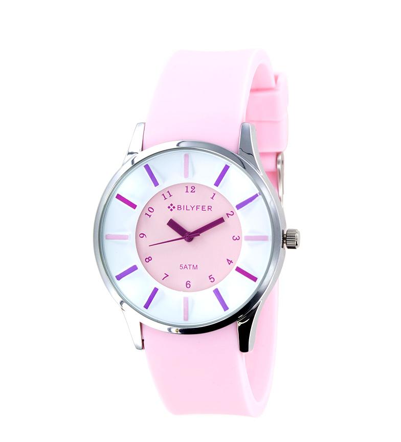 Comprar Bilyfer Reloj analógico 1F611 rosa