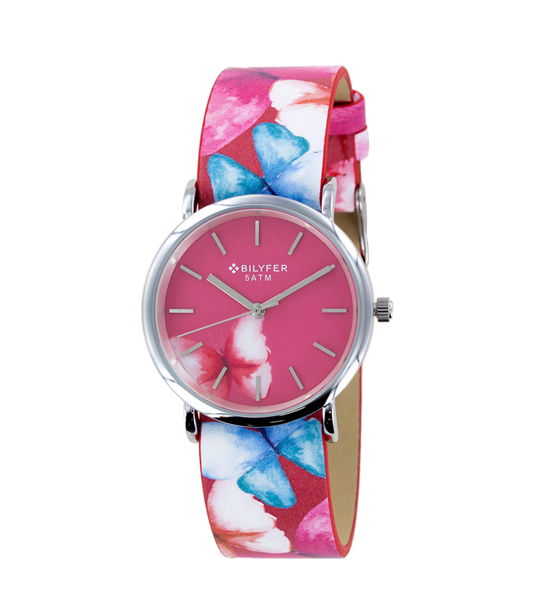 Comprar Bilyfer Reloj analógico 1F615 rosa