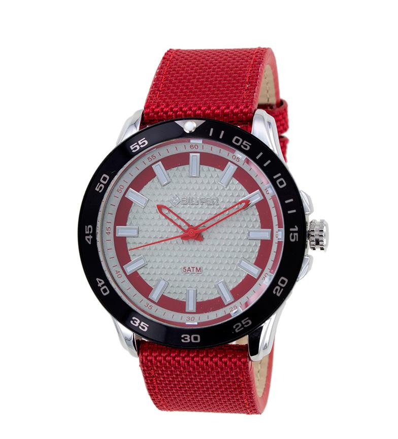 Comprar Bilyfer Relógio analógico 2W439 vermelho