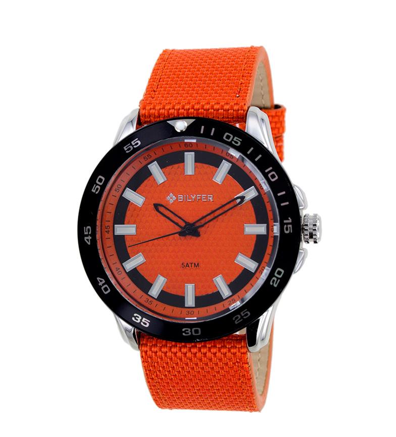 Comprar Bilyfer Relógio analógico laranja 2W439