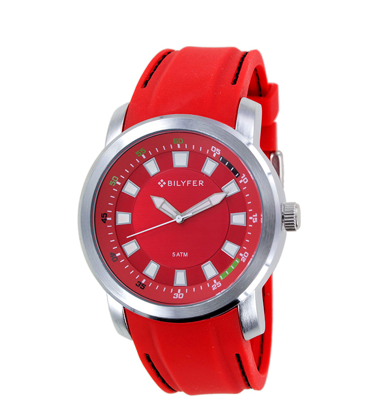 Comprar Bilyfer Orologio analogico 2W441 rosso