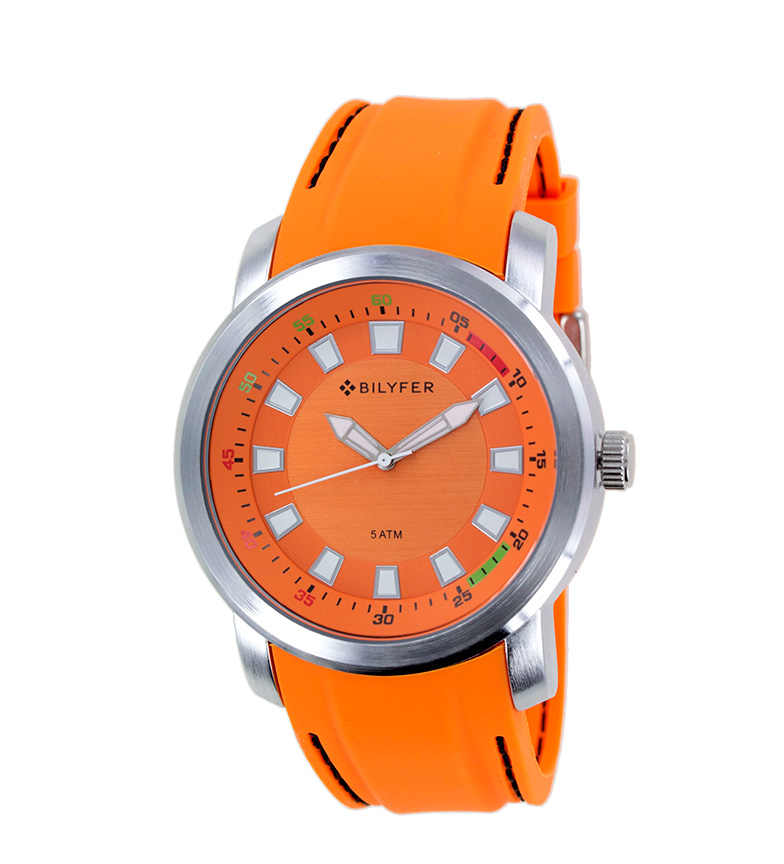 Comprar Bilyfer Relógio analógico 2W441 laranja