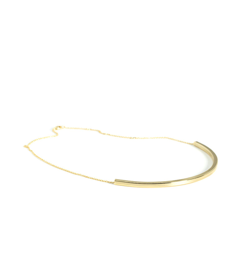 Comprar Bilyfer Colar semi rígido D0124 golden -18cm long-