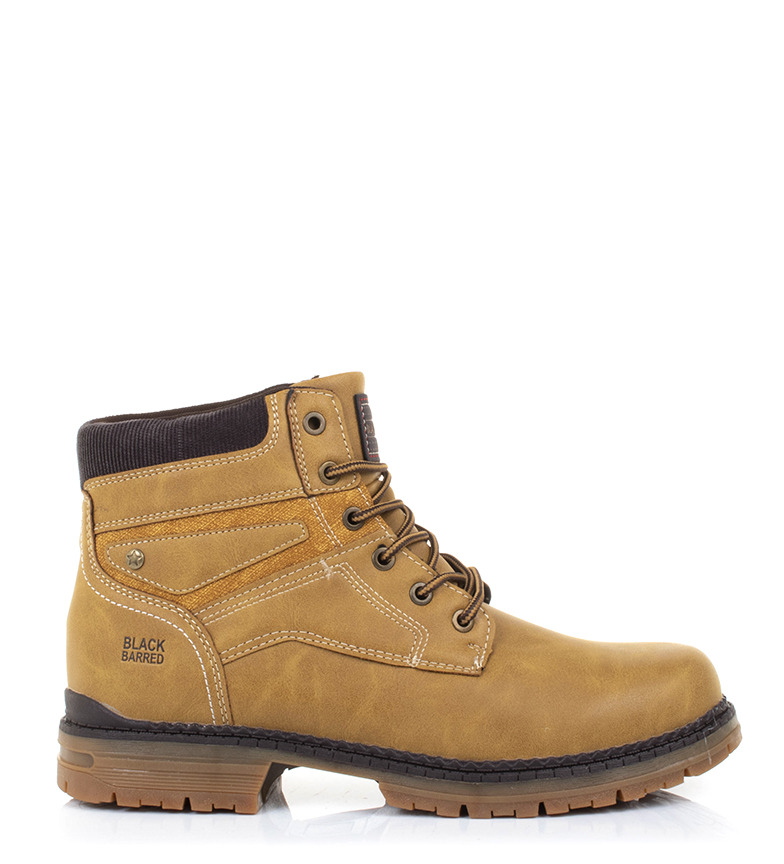 Comprar Black Barred Yellow Panama Boots