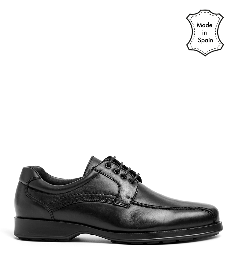 Comprar Black Barred Confort Atwood leather shoes black
