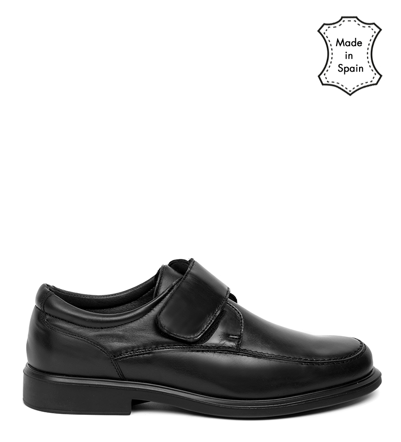 Comprar Black Barred Confort Derrick leather shoes black