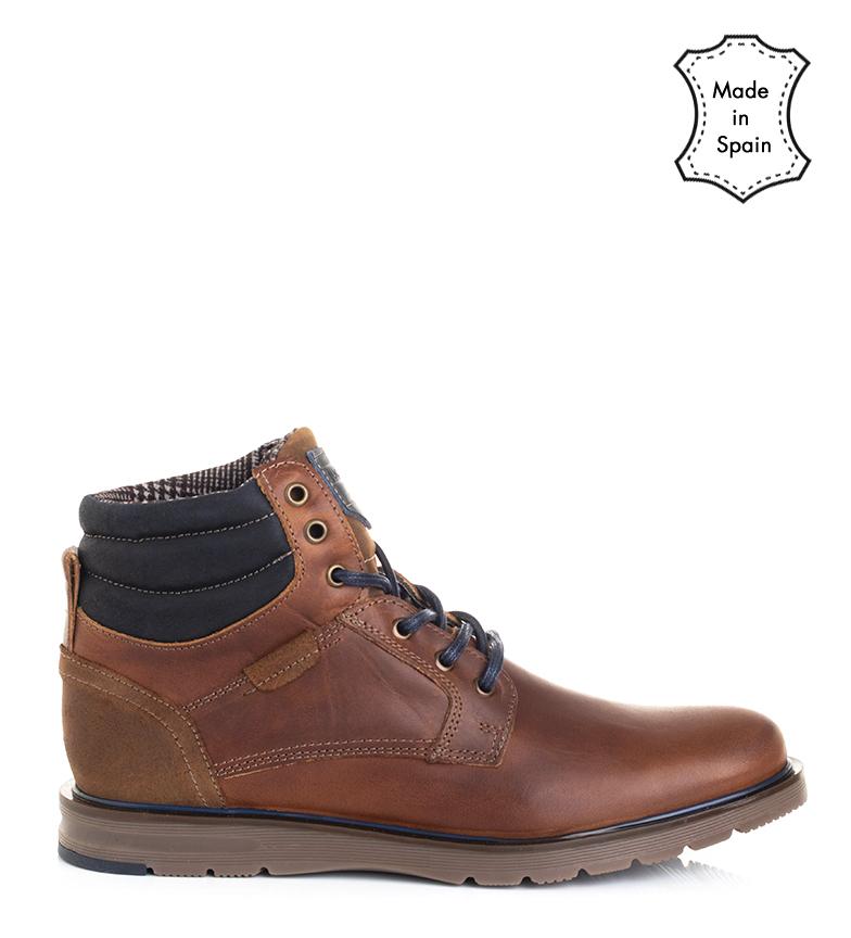 Comprar Black Barred Premium Leather boots Jack leather