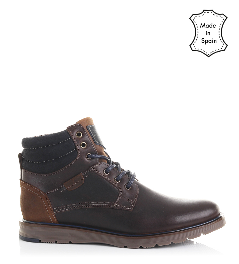 Comprar Black Barred Premium Botas de couro Brown Jack