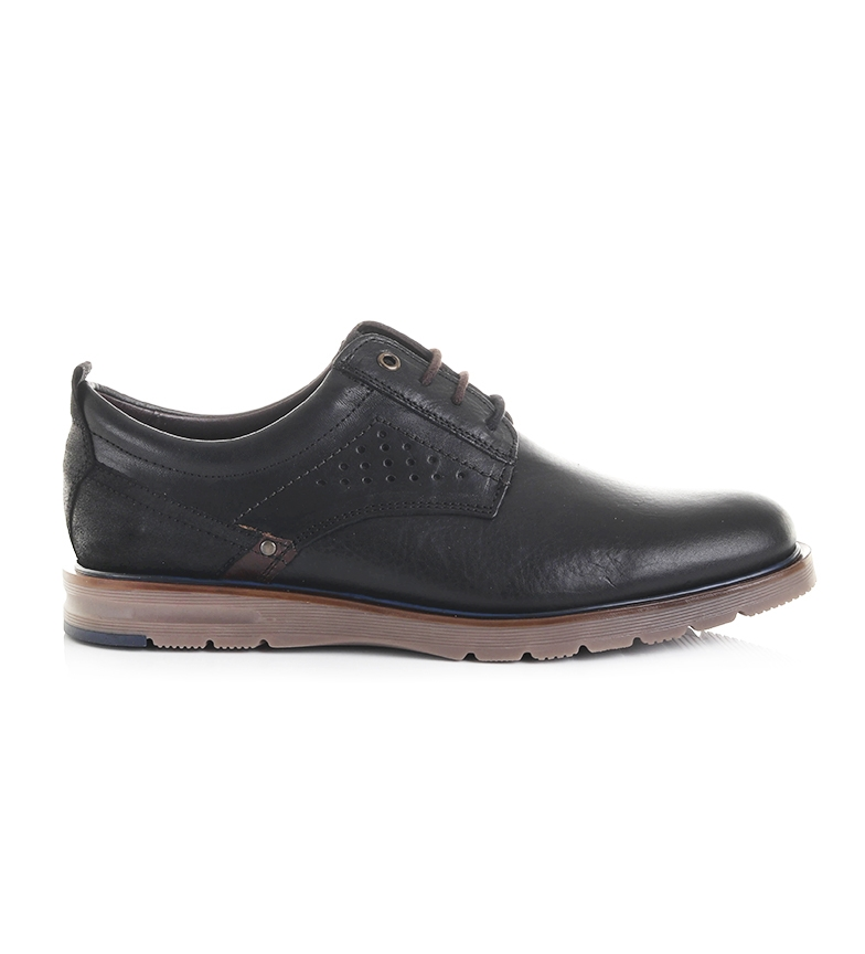 Comprar Black Barred Premium Charles leather shoes black