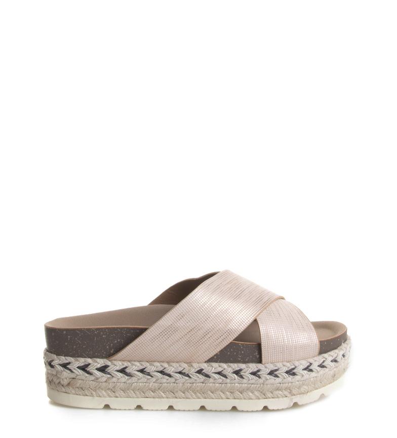 Comprar Blogger Sandálias Ali Pink - Altura da plataforma: 3,5cm