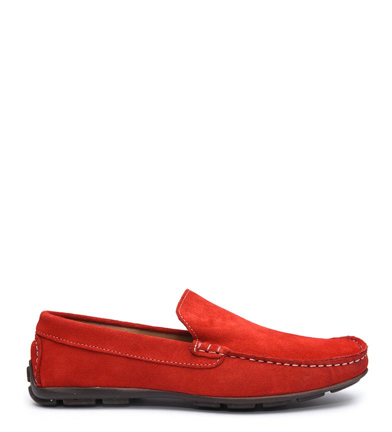 Blome Driver de piel Gaston rojo