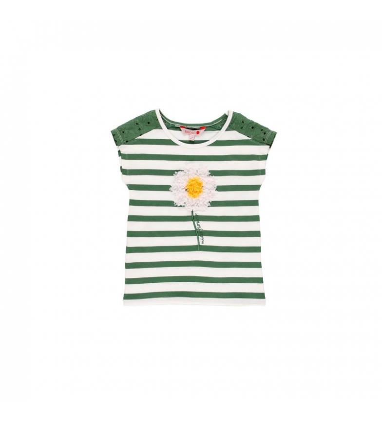 Comprar Boboli Camiseta punto elástico verde