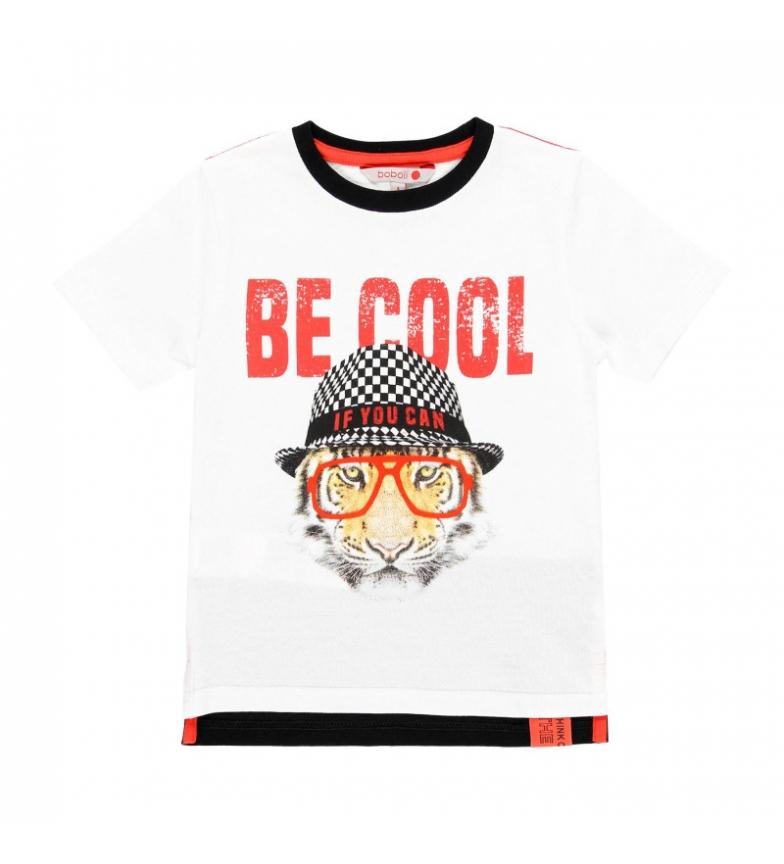 Comprar Boboli Camiseta punto liso blanco