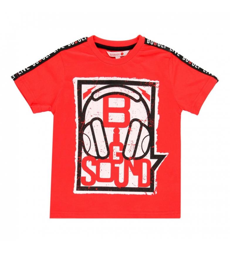 Comprar Boboli Camiseta punto liso rojo