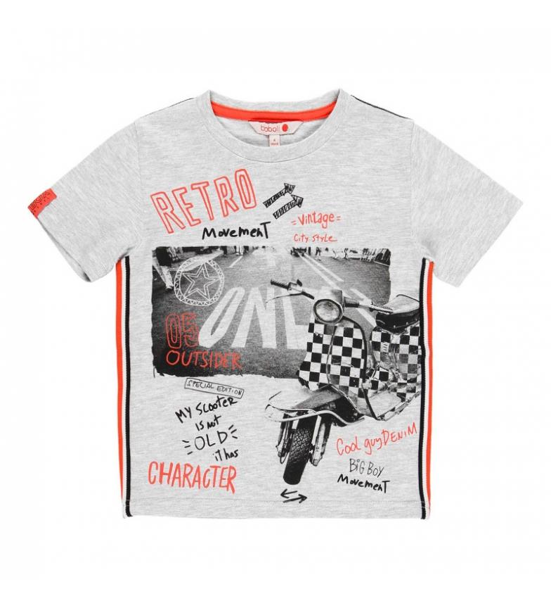 Comprar Boboli Camiseta punto liso gris