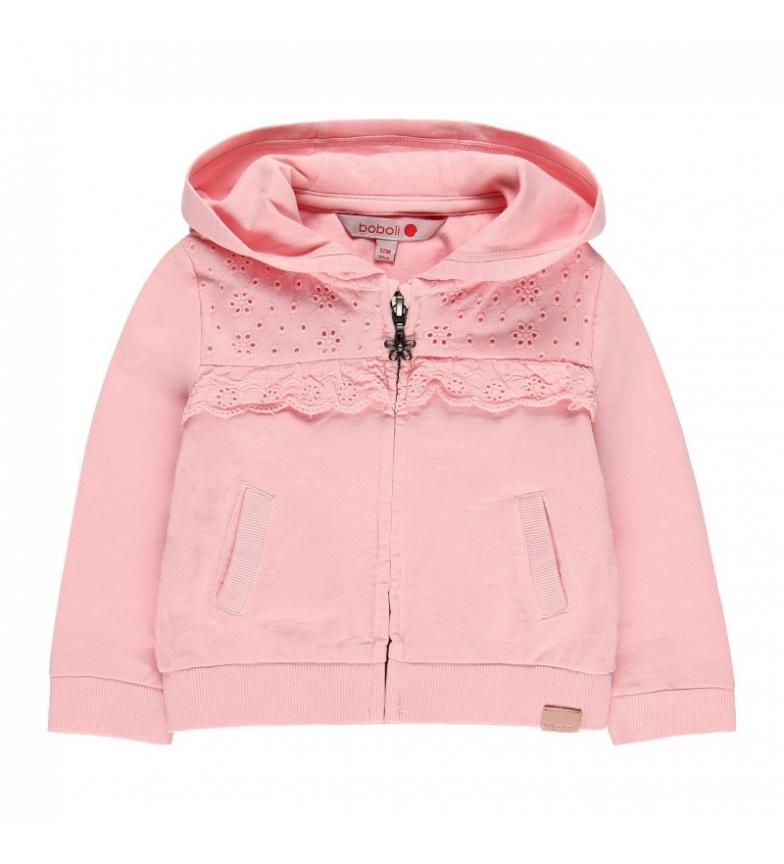 Comprar Boboli Chaqueta felpa flamé  rosa