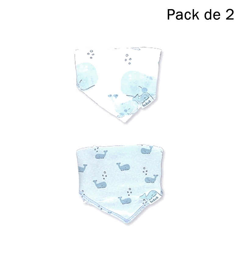 Comprar Boboli Pack 2 bavoirs bleus