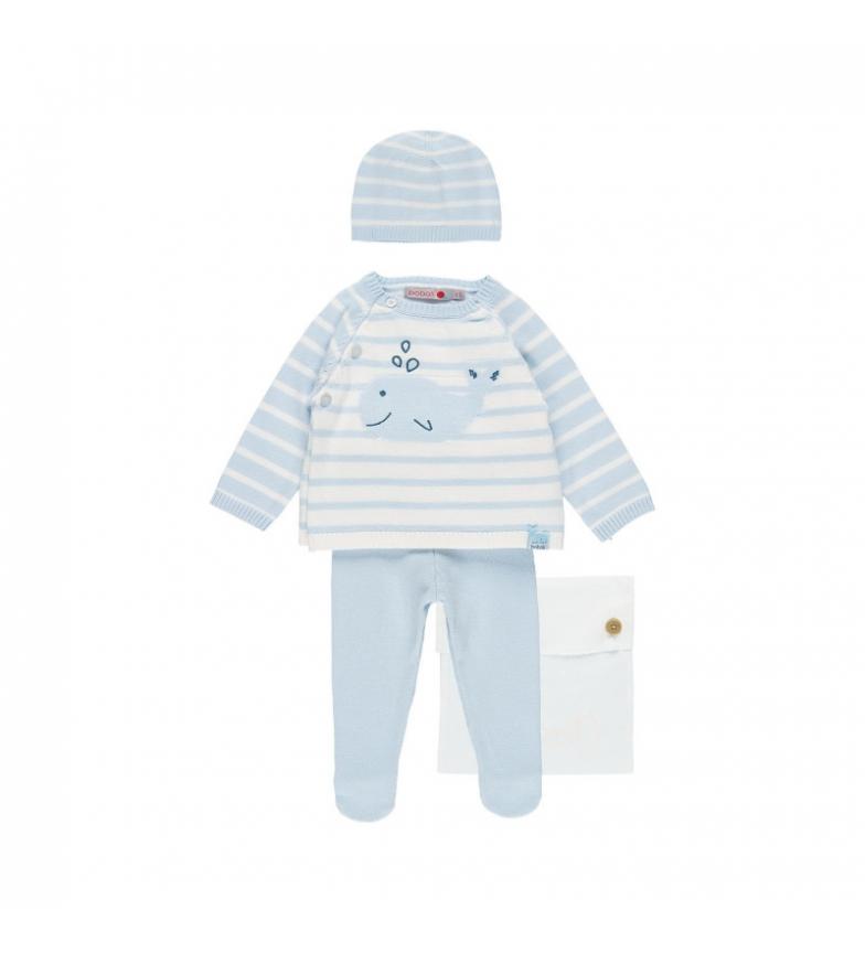 Comprar Boboli Blue knitting set