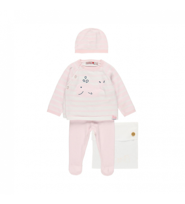 Comprar Boboli Conjunto de tricô rosa