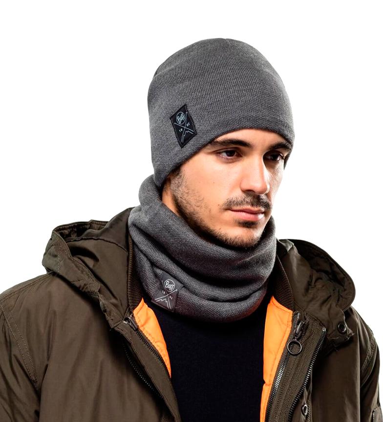 Comprar Buff Cappello in maglia e pile grigio / 52g
