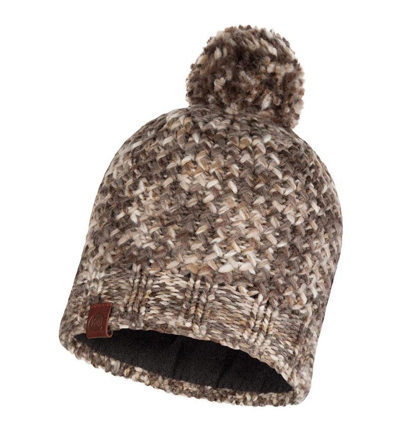 Comprar Buff Cappello in maglia e pile Margo taupe / 108g
