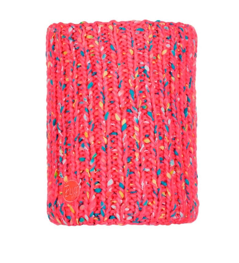 Comprar Buff Tubular de punto Yssik rosa flúor / Primaloft / 30x28cm