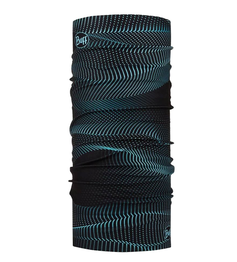 Comprar Buff Tubular multifuncional Original Glow Waves Black -UPF +50-