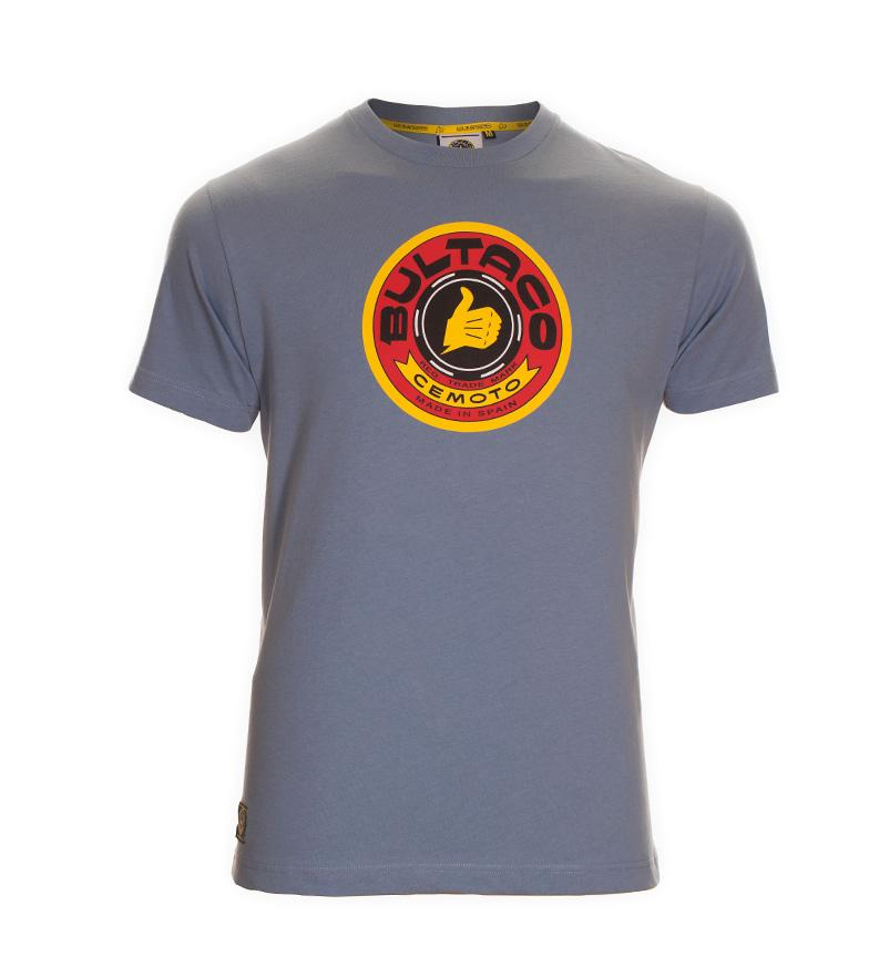 Bultaco Shirt Bt 01101001 Blå utløpstilbud billig for salg kjøpe billig beste pålitelig billig pris under 50 dollar lfTYpm6hJ