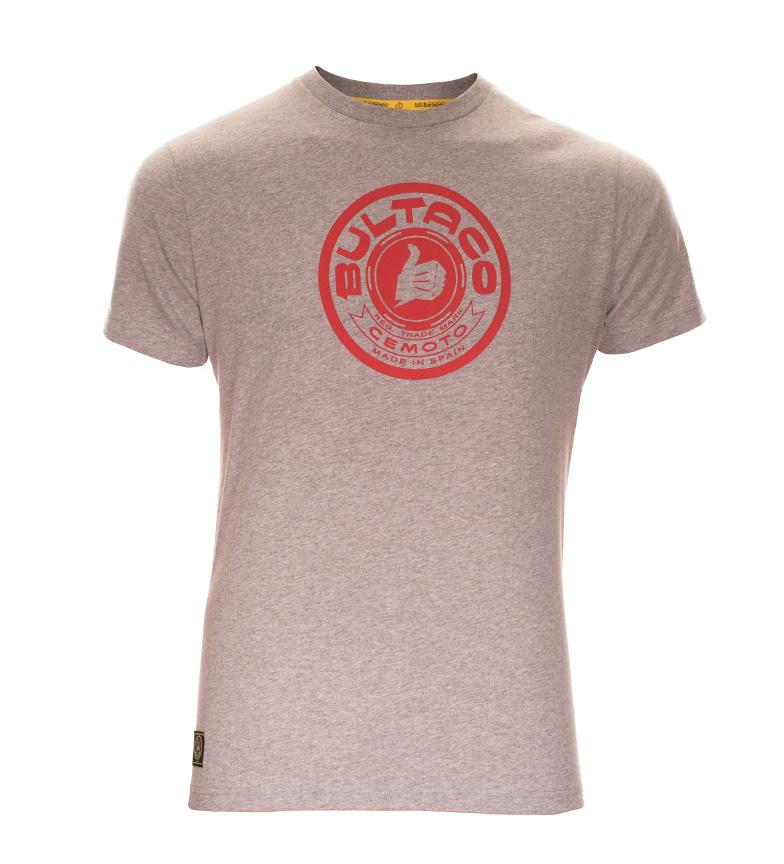 Comprar Bultaco T-shirt BT 01101002 grigio screziato
