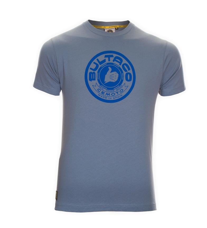 Comprar Bultaco T-shirt BT 01101002 blu