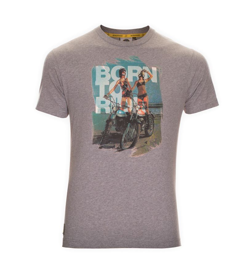 Comprar Bultaco Camiseta BT 01101004 gris jaspeado