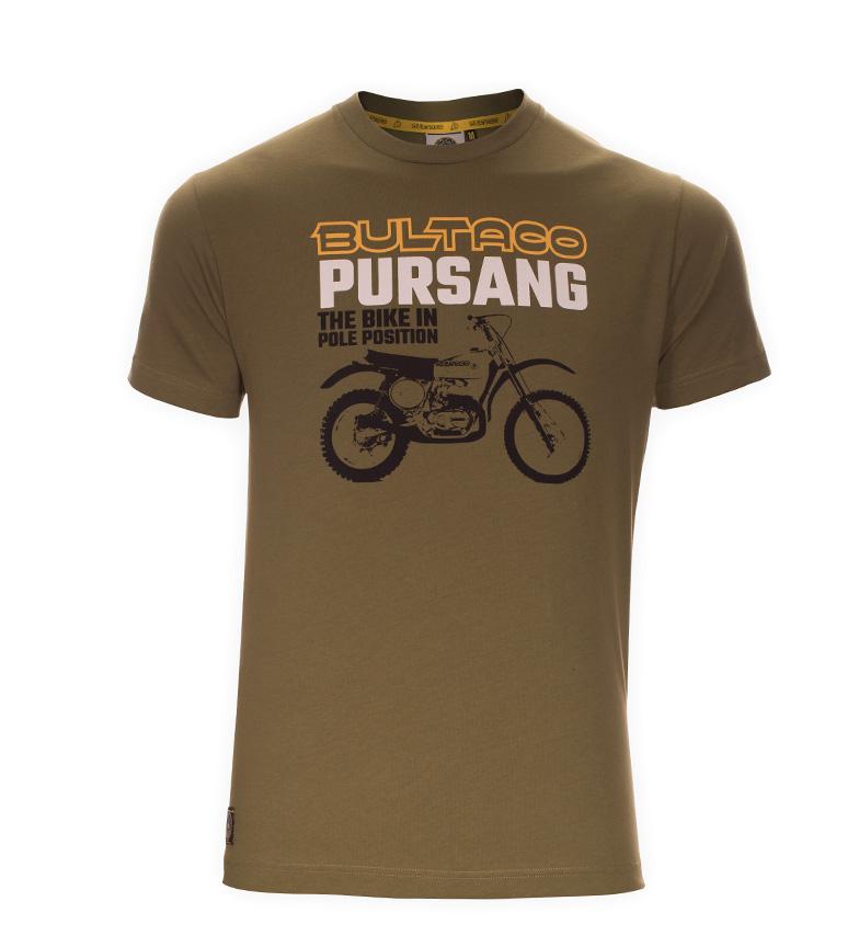 Comprar Bultaco T-shirt BT 01101005 kaki
