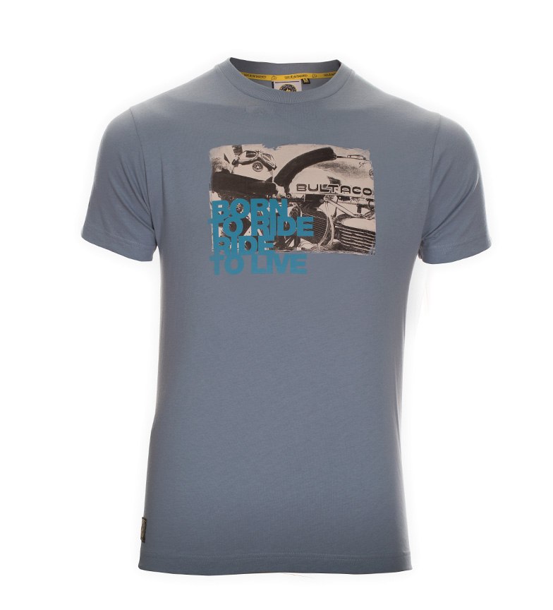 Comprar Bultaco Camiseta BT 01101006 azul