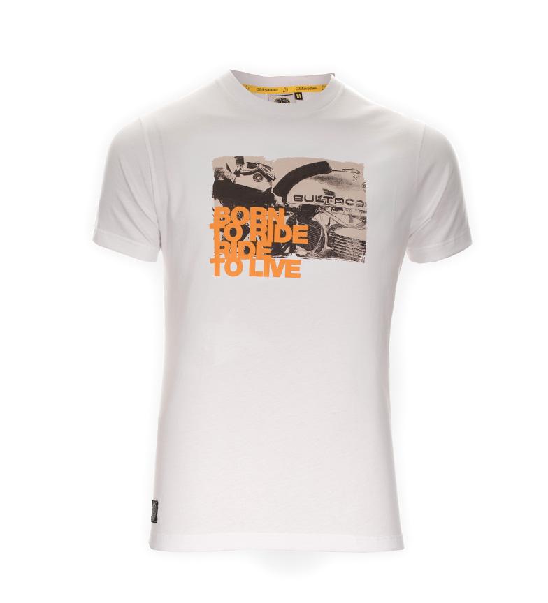 Comprar Bultaco T-shirt BT 01101006 branco