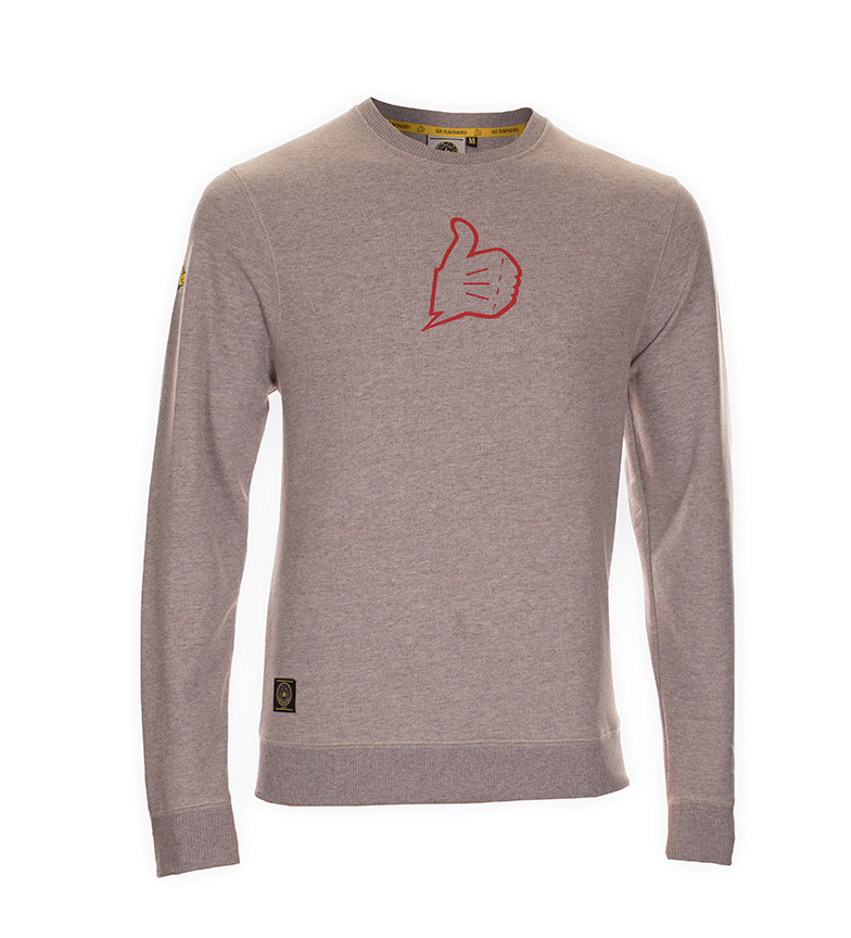Comprar Bultaco Sweatshirt BT 01106002 mottled gray