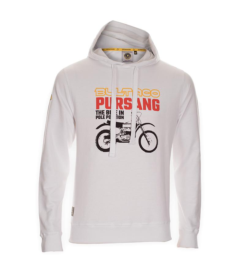 Comprar Bultaco Sudadera BT 01107001 blanco