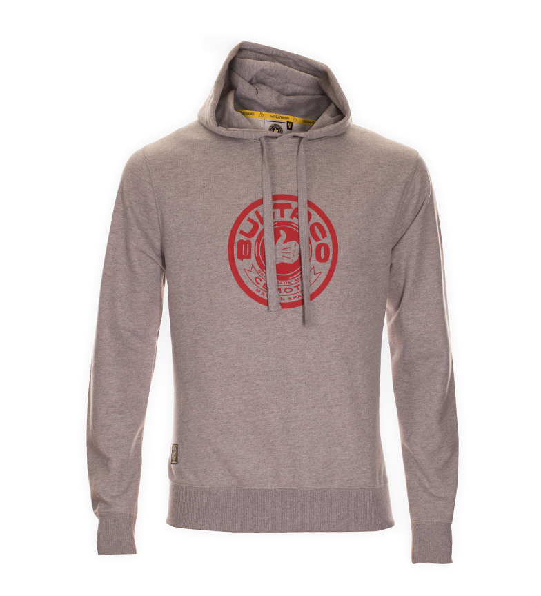 Comprar Bultaco Sweatshirt BT 01107002 gray heather