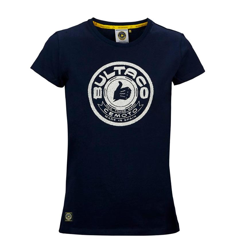 Comprar Bultaco BT TS 2001 t-shirt marinho
