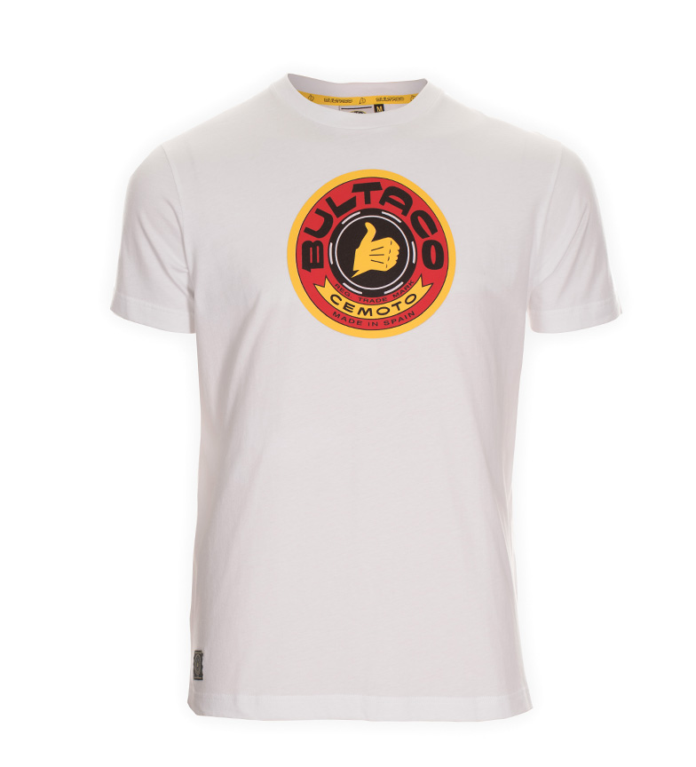 Comprar Bultaco T-shirt BT 01301001 bianca