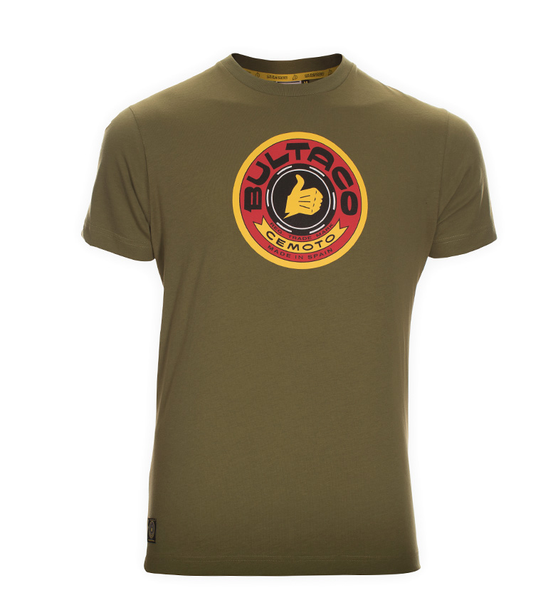 Comprar Bultaco T-shirt BT 01301001 kaki