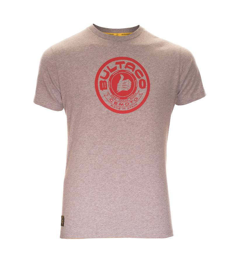 Comprar Bultaco Camiseta BT 01301002 gris jaspeado