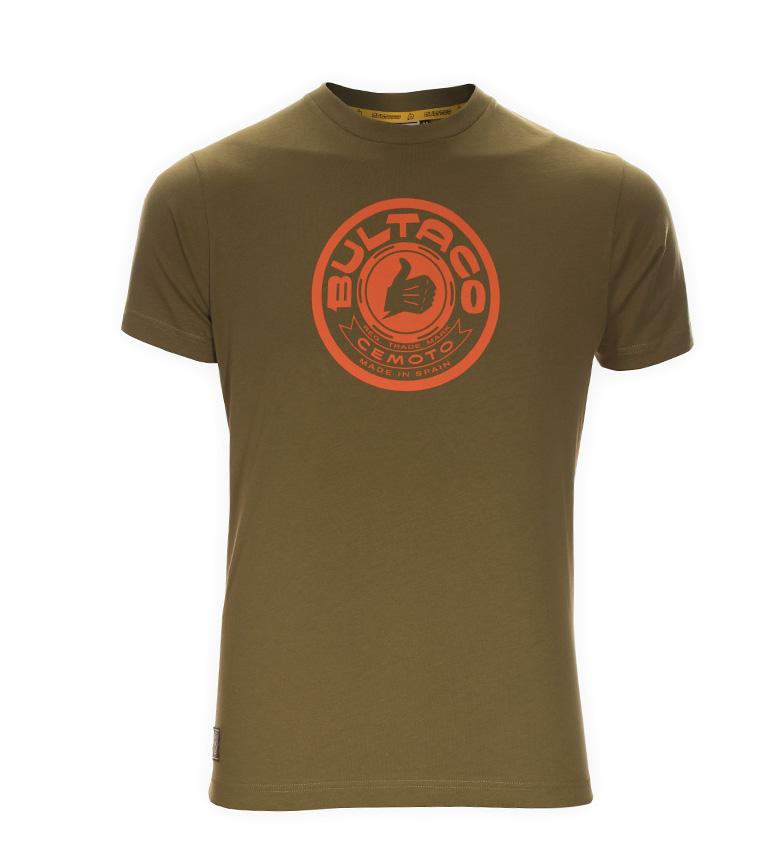 Comprar Bultaco T-shirt BT 01301002 kaki