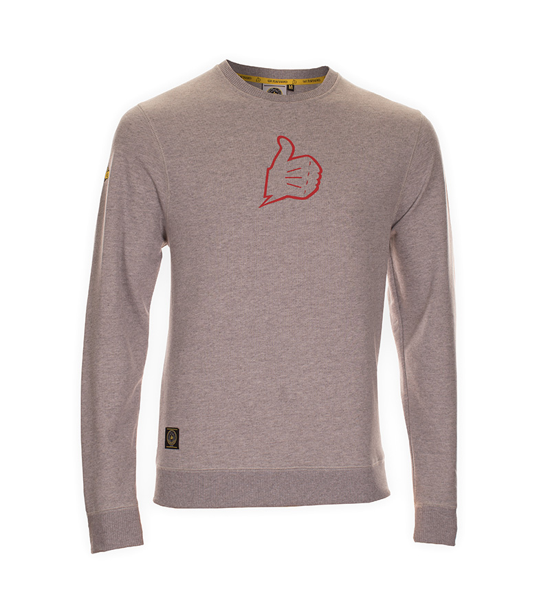 Comprar Bultaco Sweatshirt BT 01306002 gray heather
