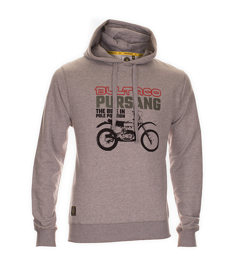 Comprar Bultaco Sweatshirt BT 01307001 gray heather