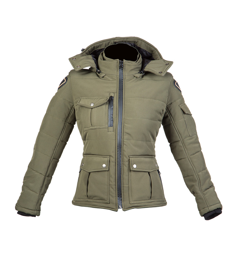 Comprar By City Giacca Urban II Green Lady