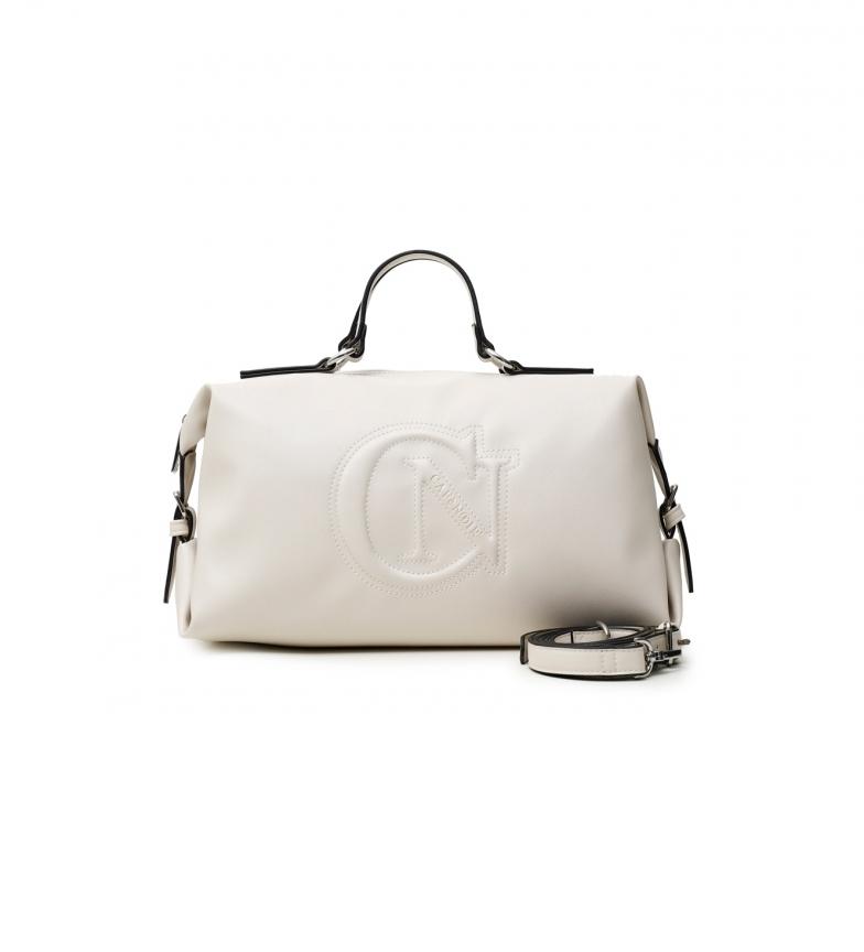 Comprar CAFÉ NOIR Soft Trunk Bag with Logo pearl -18x32x17cm