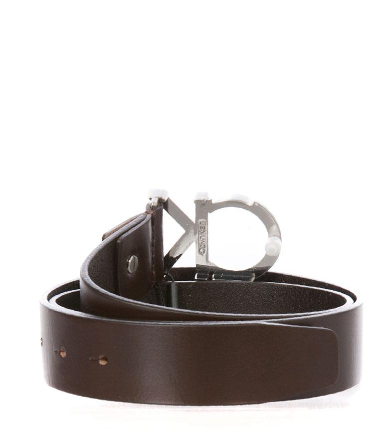 Comprar Calvin Klein Cinturón de piel K50K502119 marrón
