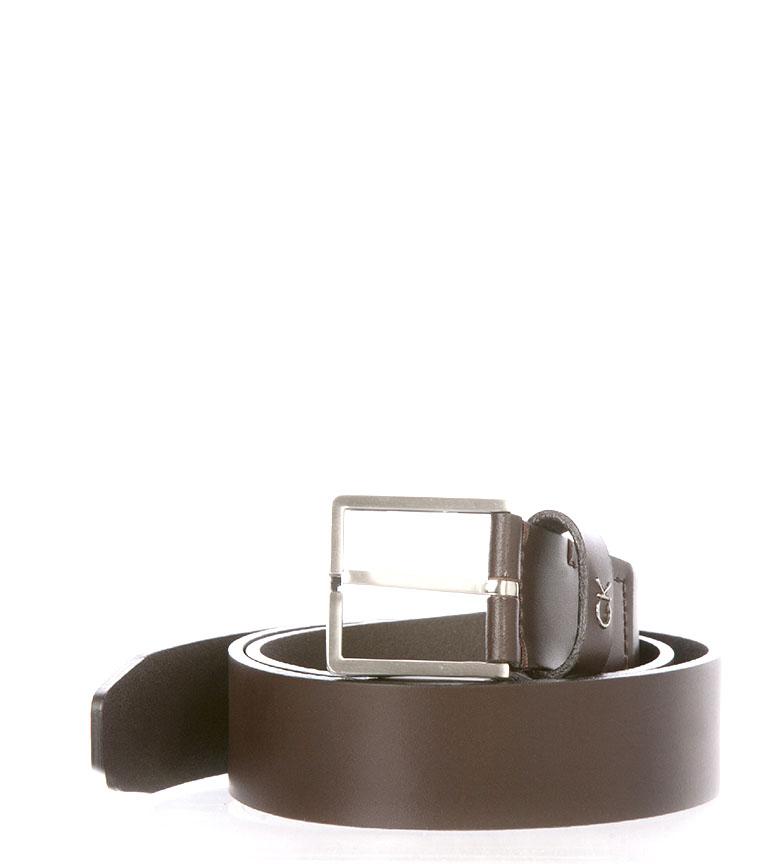 Comprar Calvin Klein Leather belt K50K504300 brown