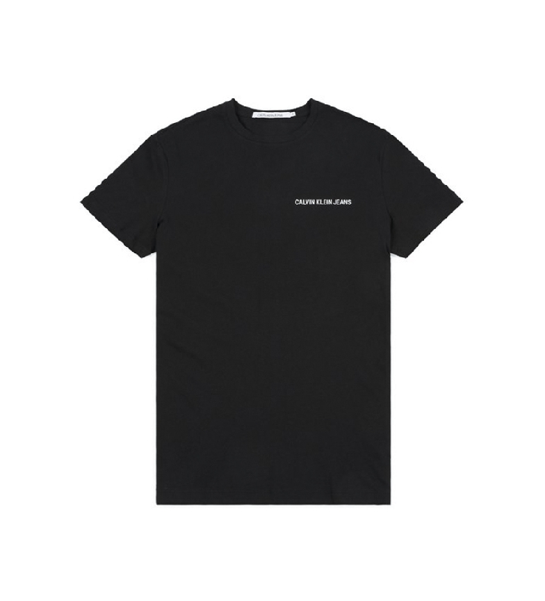Comprar Calvin Klein T-shirt noir Chest Institutional Slim