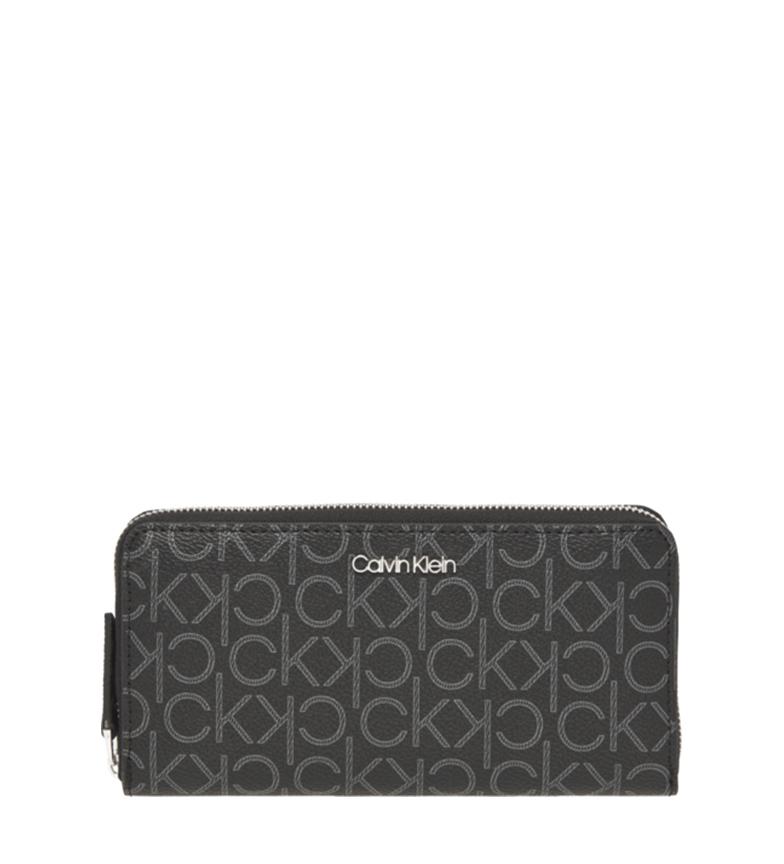 Comprar Calvin Klein Portafoglio nero Mono -1x19x2cm